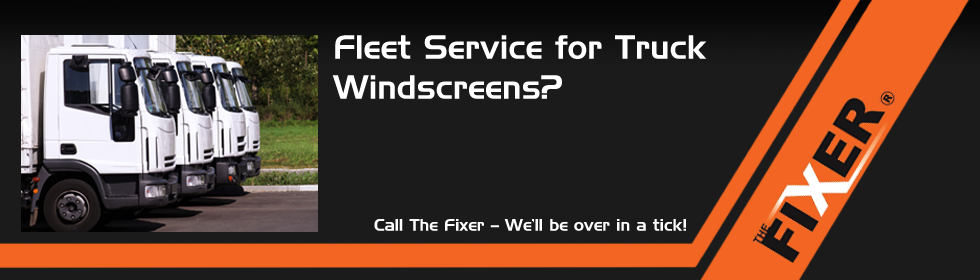 Fleet Service for Truck Windscreens